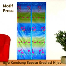 Tirai Pintu Magnet Press Biru...</a>