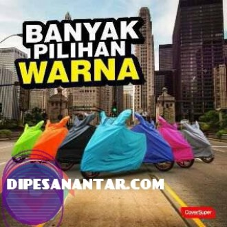 Sarung Motor Cover Super Warna Abu-abu
