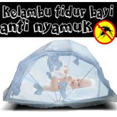 Kelambu tidur bayi anti nyamu...</a>