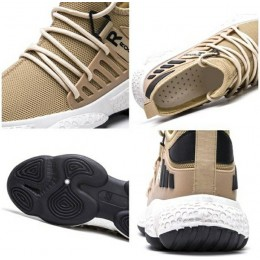 Sepatu Sneakers Sport Pria Modis Keren-white